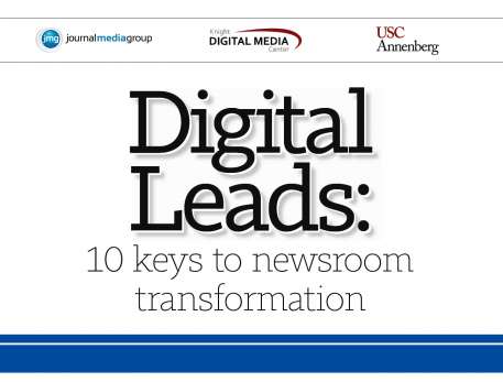 Digital Leads: 10 keys to newsroom transformation